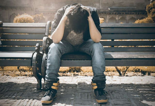 depressed teenager